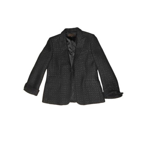 Black wool JACKET, 44, APOSTROPHE