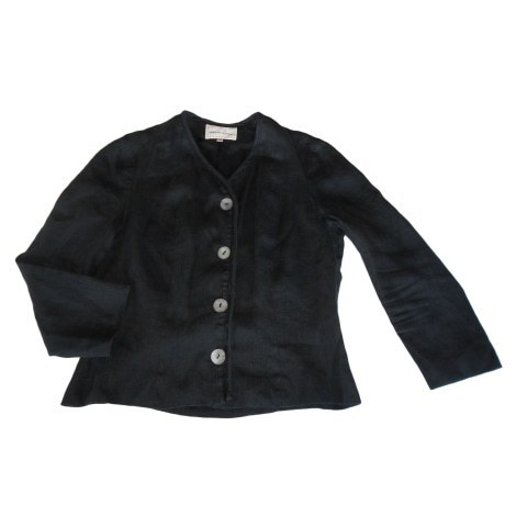 Black linen JACKET, M, Armand VENTILO